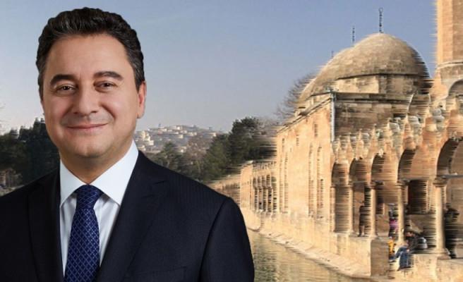 Ali Babacan Şanlıurfa'ya geliyor!