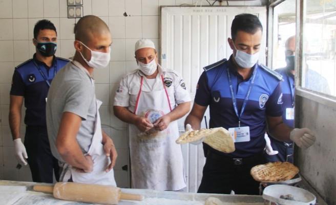 Eyyübiye'de koronavirüs denetimleri sürüyor