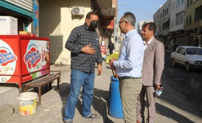 Mehmet Kuş, esnaf ve vatandaşlarla buluştu