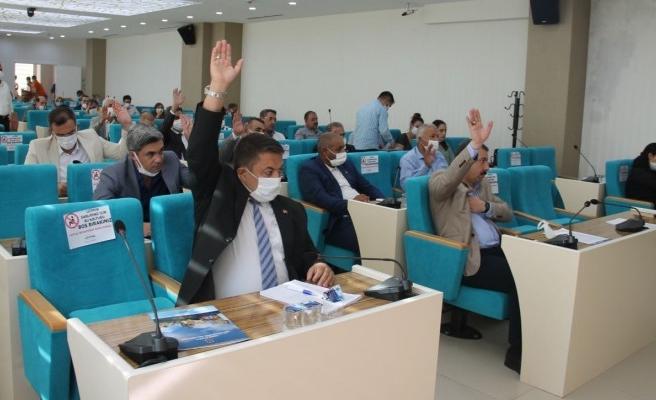 Urfa Meclisinde görüşülen İmar Raporu reddedildi