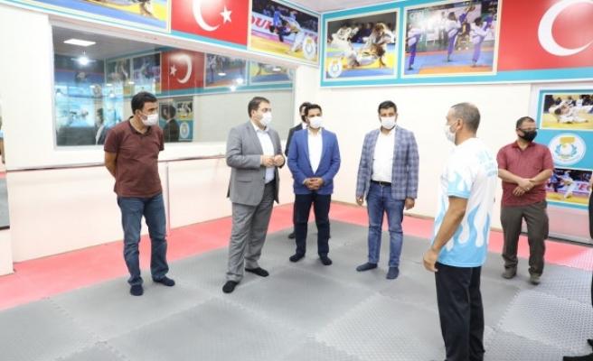 Haliliye'ye yeni bir spor salonu daha kazandırıldı