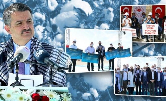 Pamuk primi için Bakan Pakdemirli'den son dakika açıklaması