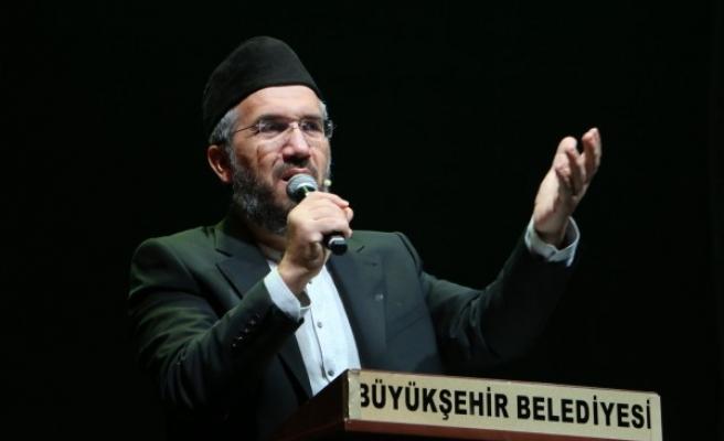 İhsan Şenocak, Şanlıurfa'da boykota destek çağrısı yaptı