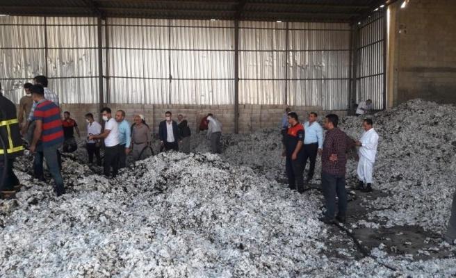 Şanlıurfa'daki fabrikada korkutan yangın