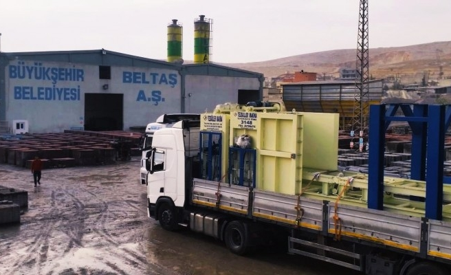 Urfa'da adım atıldı: Kilitli parke taşını belediye üretecek