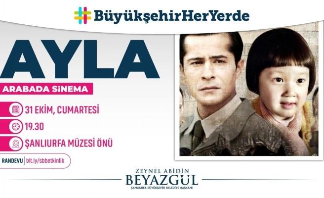 Sinema etkinliğinde Ayla filmi gösterilecek