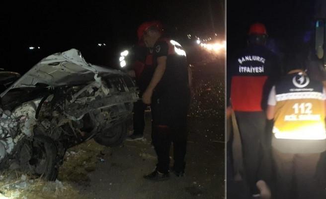 Şanlıurfa'da iki araç çarpıştı! Yaralılar var