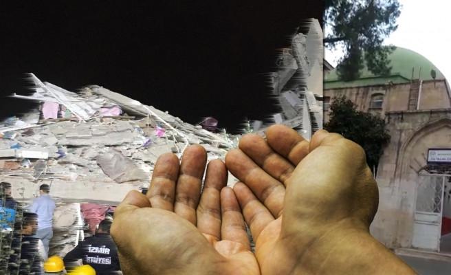 Urfa minarelerinden İzmir için dualar yükseldi!