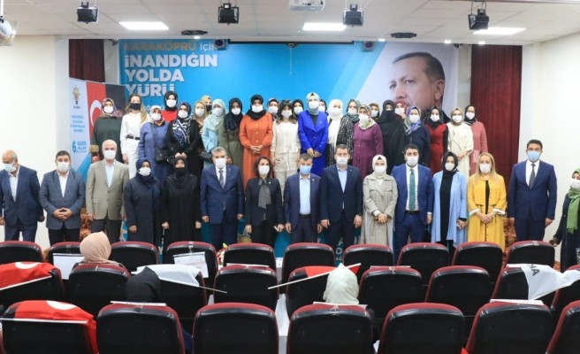 Karaköprü'de Kadın Kolu Başkanı belli oldu