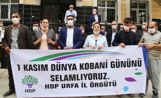 HDP Urfa Heyetinin açıklaması yasak nedeniyle engellendi