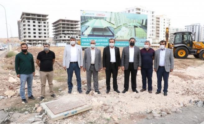 Haliliye'de yeni projeler hayata geçiyor