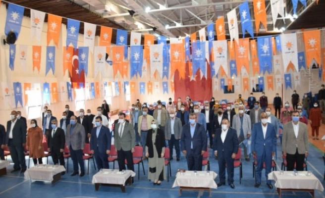 Viranşehir İlçe Kadın Kolları Başkanı Songül Burun oldu