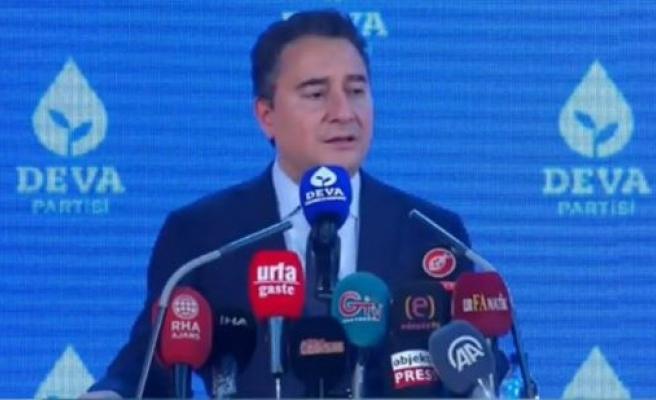 Ali Babacan Şanlıurfa'da konuştu: Hükümetin aklı rant projelerinde!