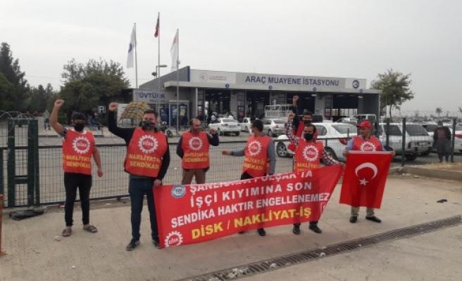 Urfa'daki işçilerin eylemi 717 gündür sürüyor