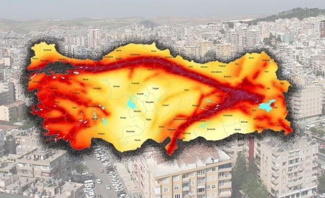 İşte Türkiye'nin deprem haritası: Urfa ne kadar tehlikede?