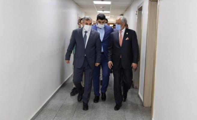 Kuveyt Büyükelçisi Al Zawawi, Beyazgül ile görüştü