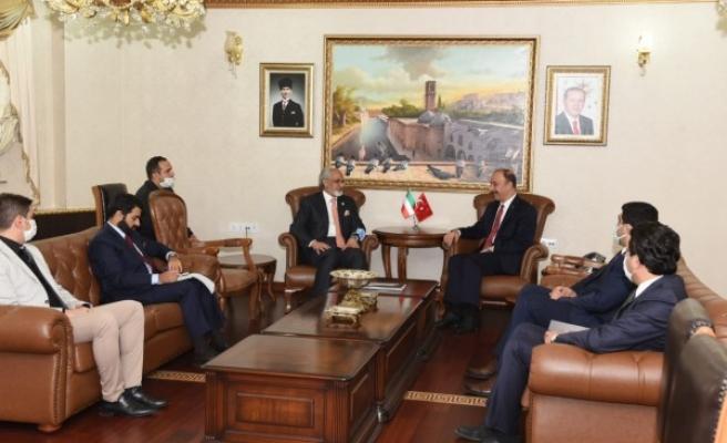 Kuveyt Büyükelçisi El Zawawi Şanlıurfa'da