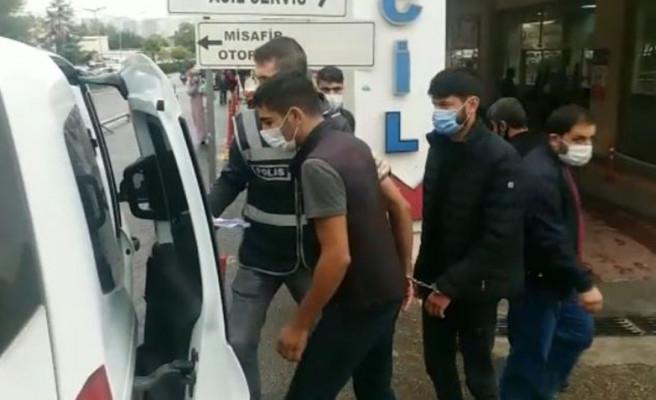 Şanlıurfa'da araba hırsızları yakalandı