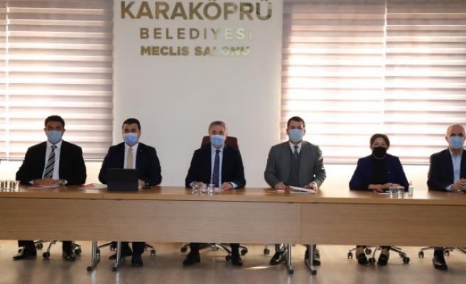 AK Partili Başkan Yardımcısı Yanılmaz, Baydilli ile görüştü