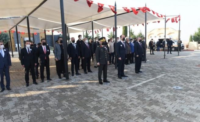Şanlıurfa'da Atatürk'ü anma etkinlikleri yapıldı