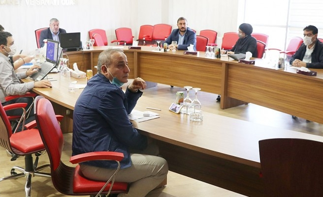 ŞUTSO'da toplantı: Üyeler problemleri konuştu