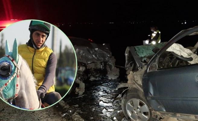 Viranşehir'de korkunç kaza! Genç jokey hayatını kaybetti