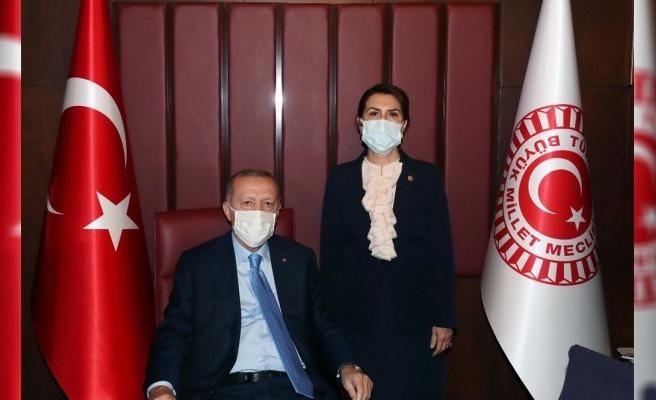 Urfa'nın sorunlarını bizzat Cumhurbaşkanı'na iletti!