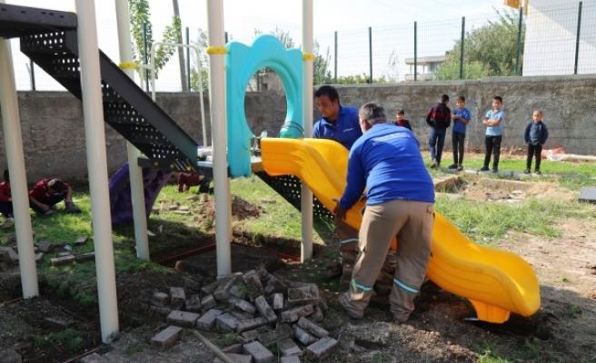 Haliliye'de çocukları sevindiren projeler hayata geçiyor