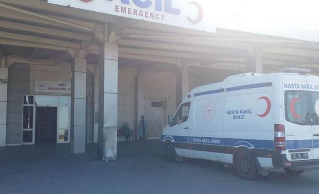 Şanlıurfa-Akçakale yolunda araç takla attı