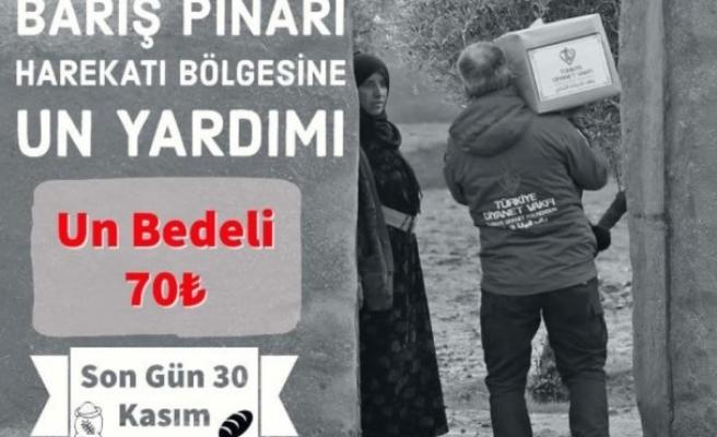 Barış Pınarı için Urfa'da kampanya başladı