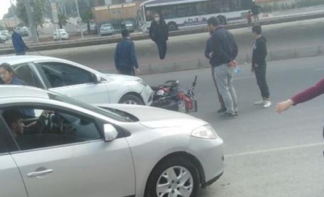 Urfa'da ters yöne giren sürücü kazaya neden oldu!