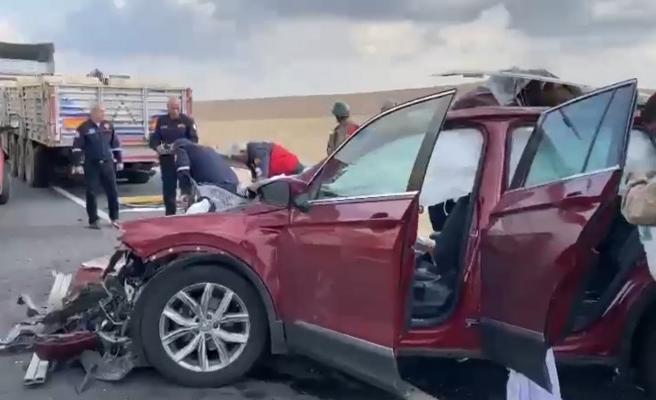 Şanlıurfa'da feci kaza: 1 yaralı
