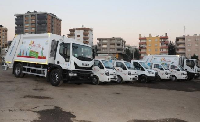 Haliliye Belediyesi araç filosunu güçlendirdi