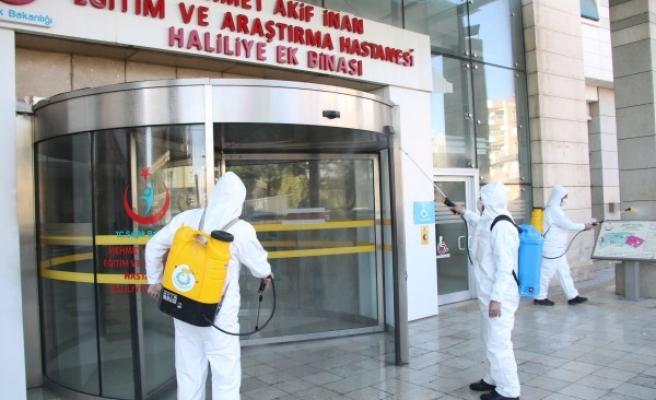 Haliliye'de pandemi ile mücadele sürüyor