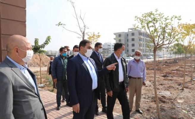 Haliliye'de 'Güvenli Park' projesi hayata geçti