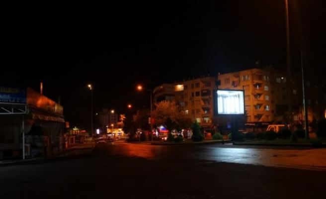 Yasak başladı, Urfa sokakları bomboş...
