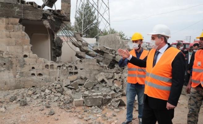 Beyazgül: Eyyübiye yeniden inşa ediliyor