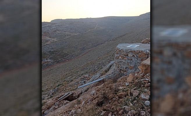 Urfa'da tarihi sit alanına kenef yaptılar