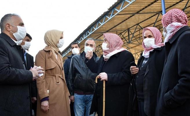 Siverek'te esnaf ve vatandaşların talepleri dinlendi