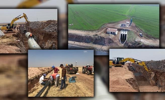 DSİ'nin sulama projesi devam ediyor