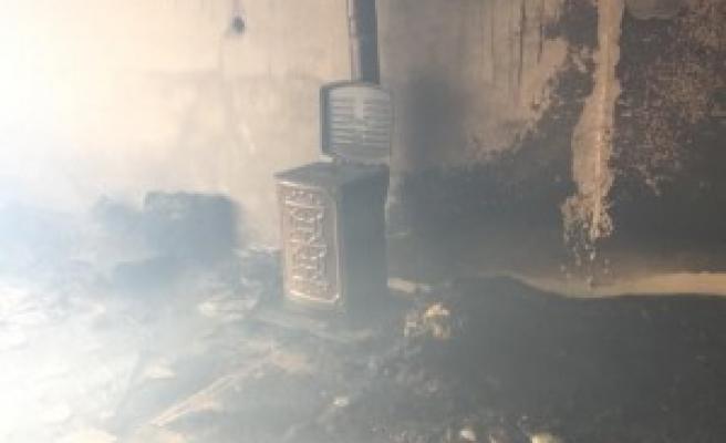 Urfa'da mesken yangını! Maddi hasar var