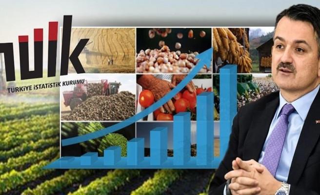 Tarım Bakanı: Pandemiye rağmen artış oldu