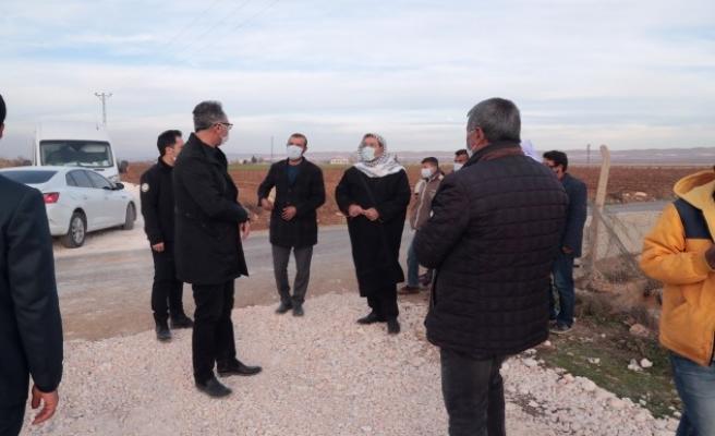 Eyyübiye'de Mehmet Kuş çalışmaları inceledi
