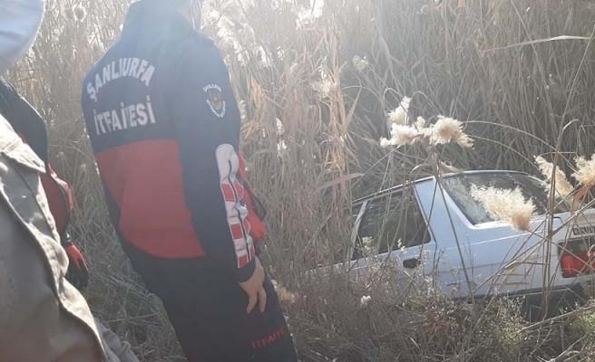 Akçakale-Şanlıurfa yolunda kaza: Tarlaya girdi