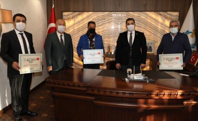 Şanlıurfa'da 'Beyaz Bayrak' Projesi: Sertifika verildi