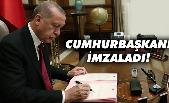 Erdoğan imzaladı: 5 üniversiteye rektör atandı