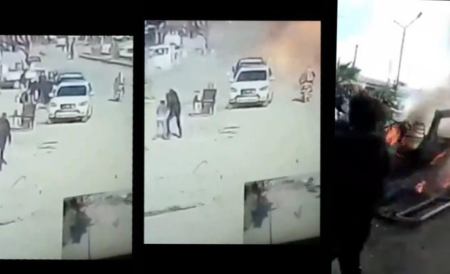Patlama anının görüntüleri ortaya çıktı!