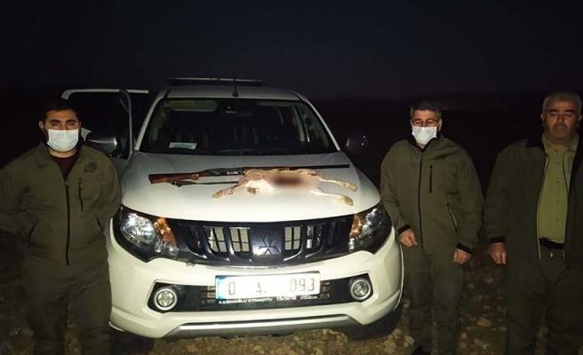 Şanlıurfa'da 2 avcıya ceza kesildi!