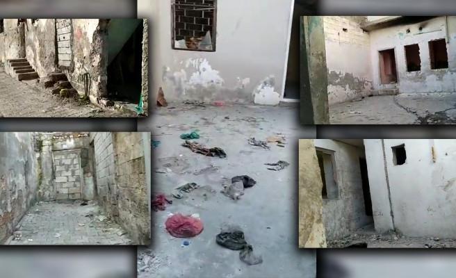 Urfa'daki mahalle bağımlıların mekanı oldu