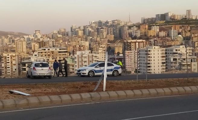 Şanlıurfa'da kaza: Uçurumun kenarında son anda durdu